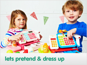 pretend play and dressing up costumes