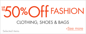 Mid Season Savings Up to 50% off Fashion