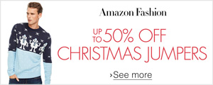 Up to 50% off Christmas Jumpers