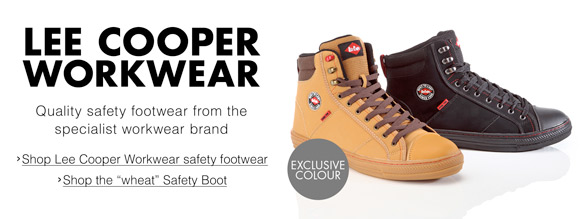 Lee Cooper: Work & Safety Footwear