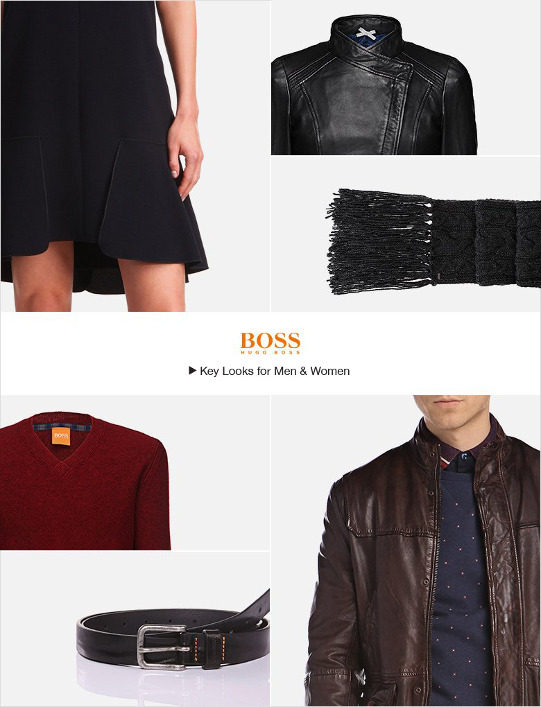 Boss wear clothing store website