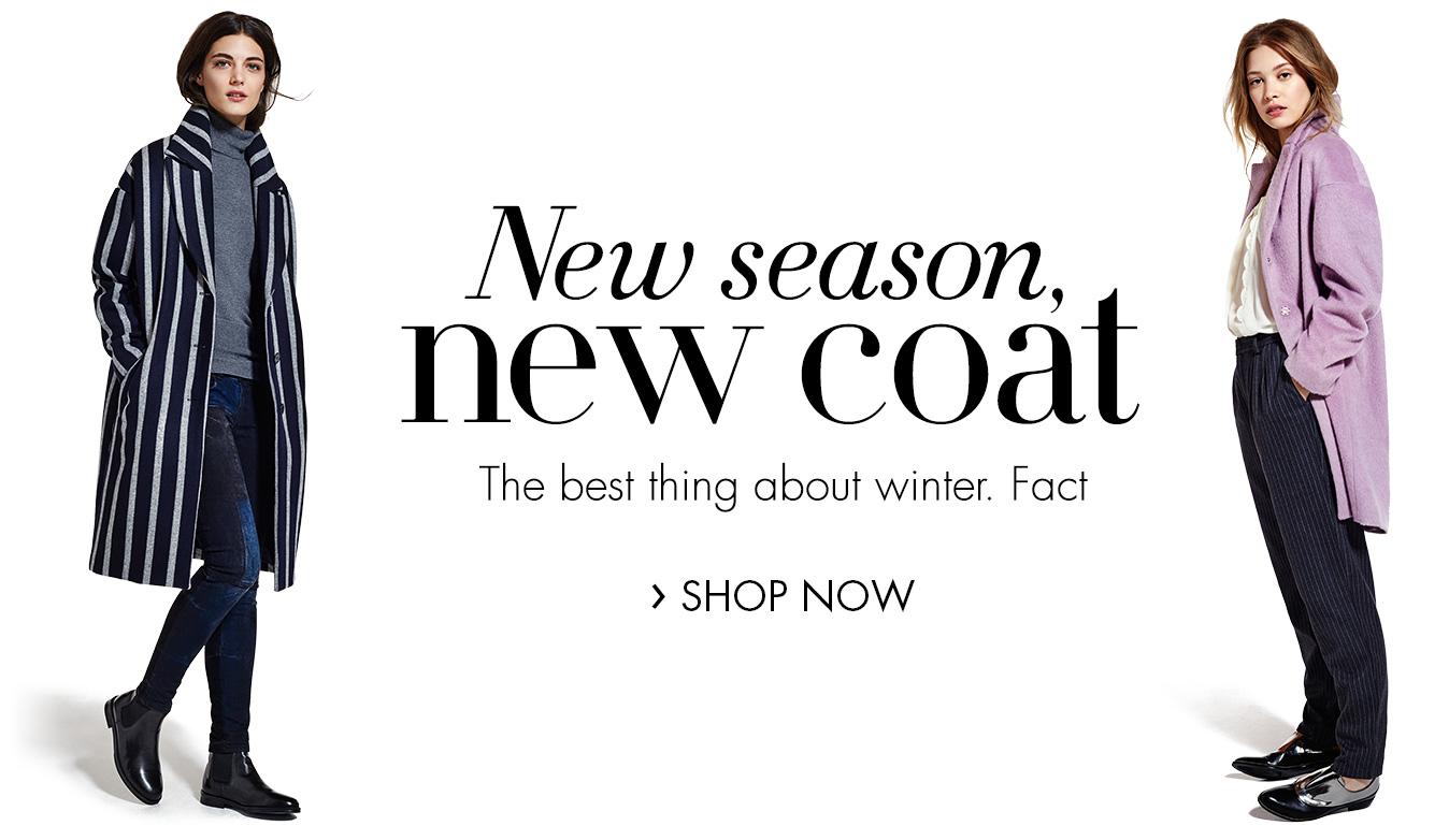 AW15 Women's Clothing | New Season New Coat