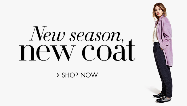 New Season Coats for Her