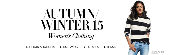 Autumn/Winter 15 | New Arrivals Women's Clothing