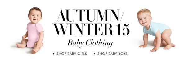 Autumn/Winter15| Baby Clothing