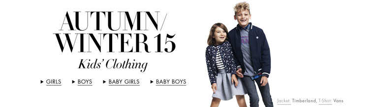 Autumn/Winter 15 | New Arrivals Kids' Clothing
