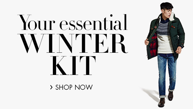 Essential Winter Kit For Him