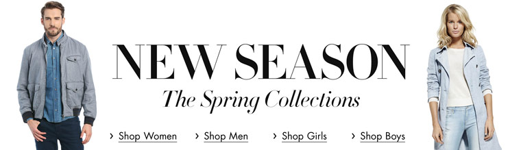 New Season | The Spring Collections in Clothing
