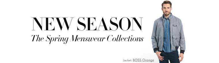 New Arrivals   Menswear for Spring