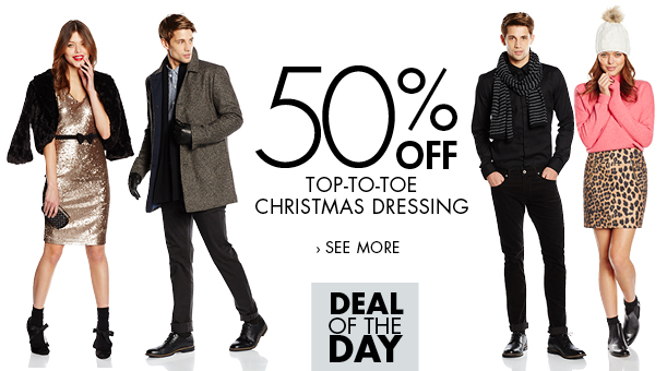 Top-to-toe fashion: Deal of the day