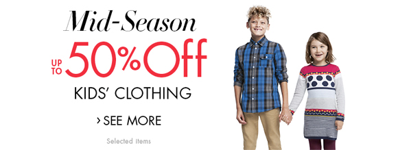 Mid-Season SALE| Kids' Clothing