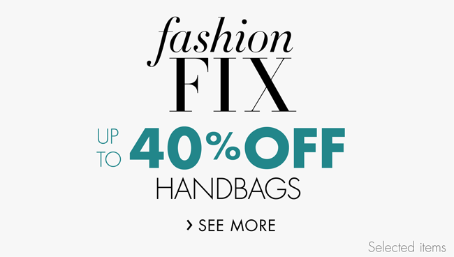 Fashion Fix: Handbags