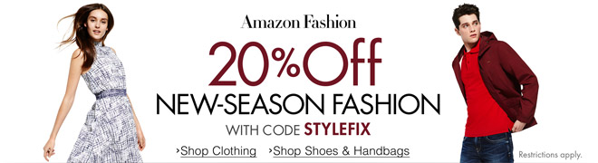 20% Off New-Season Fashion