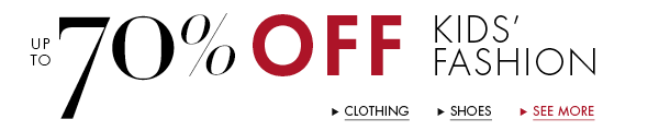 Up to 70% Off Fashion