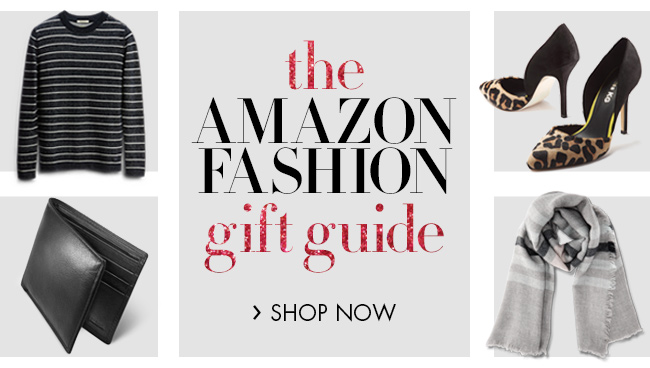 The Amazon Fashion Gift Guide