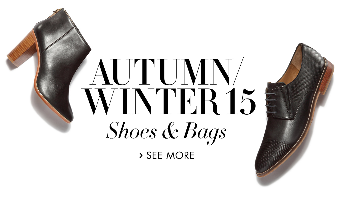 Autumn/winter 15 shoes and bags