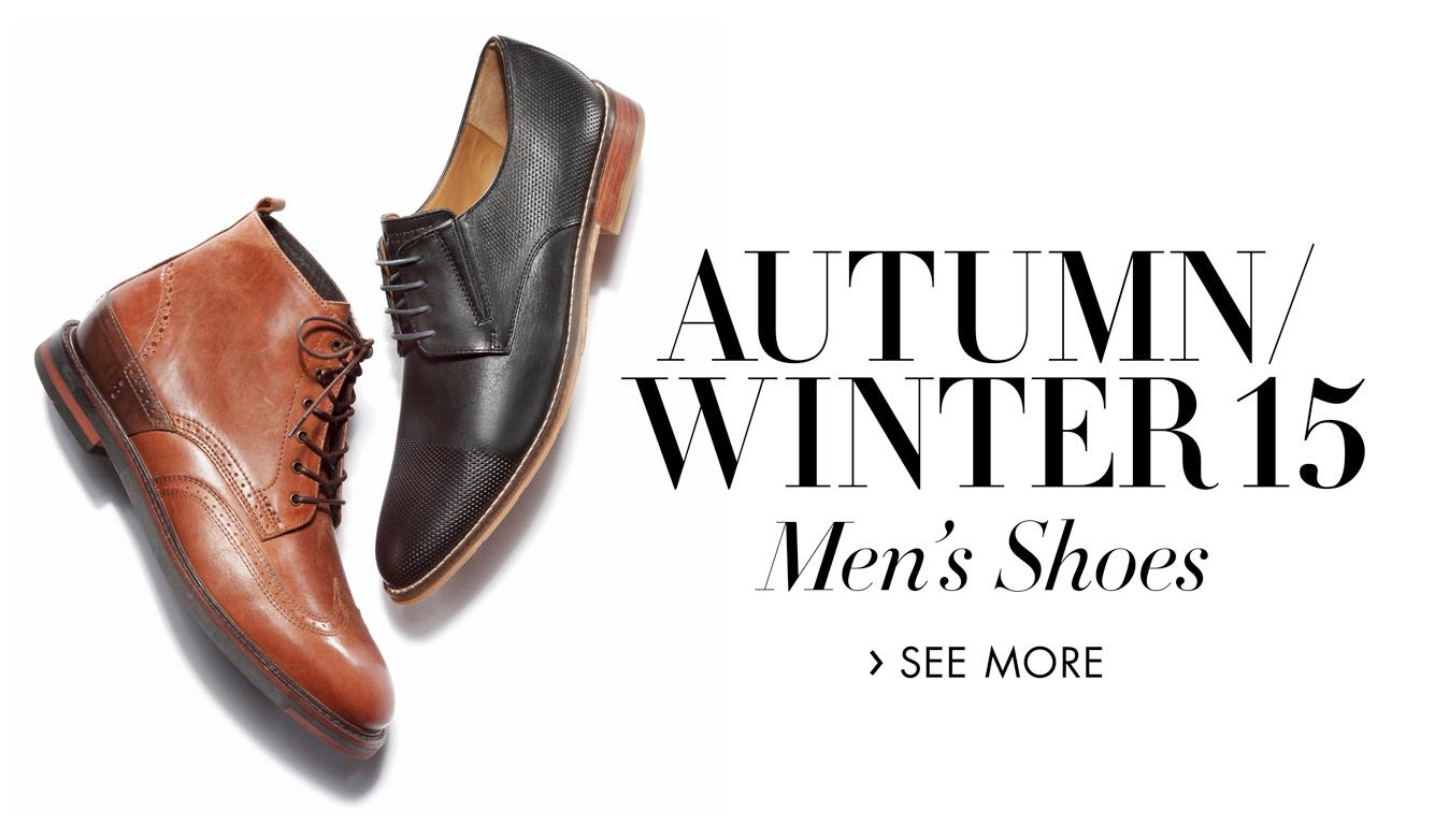 Autumn/winter 15: Men's shoes