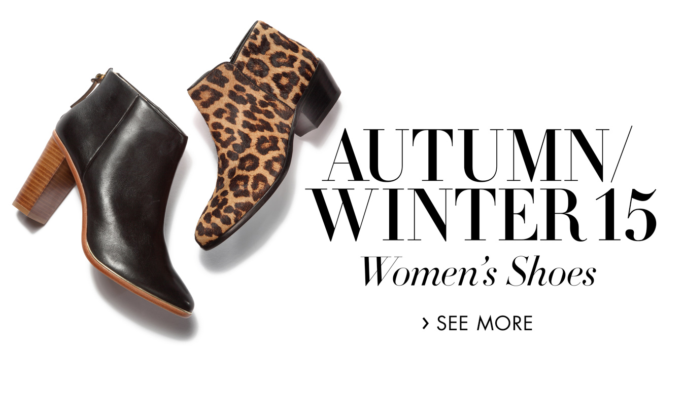 Autumn/winter 15: Women's shoes