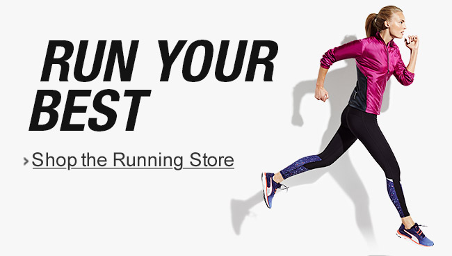 Run your best: Shop the Running Store