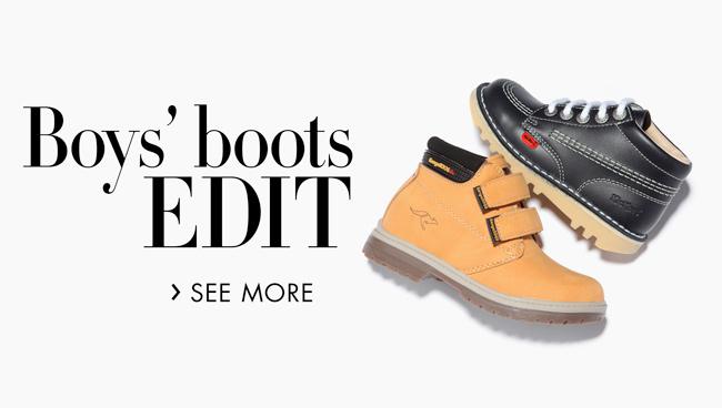 Boys' Boots Edit
