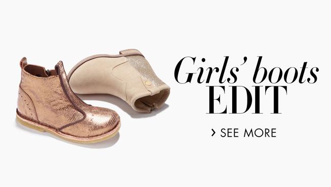 Girls' Boots Edit