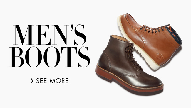 Men's Boots Edit