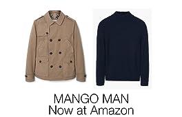 Mango Men now Amazon Fashion