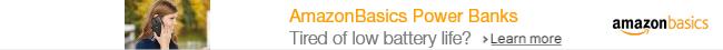 Power Banks by AmazonBasics