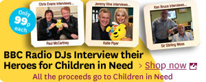 BBC Radio interviews for 99p to support Children in Need