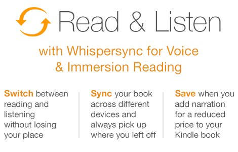 Now switch between reading and listening in the Kindle app