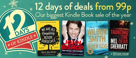 12 Days of Kindle: Our Biggest Sale of the Year