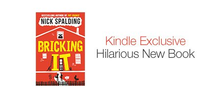 Kindle Exclusive - Hilarious New Book