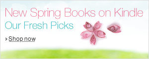New spring books on Kindle