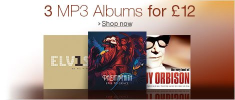 3 MP3 Albums for £12