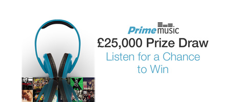 Prime Music Prize Draw