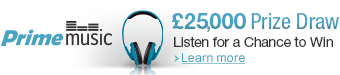 Prime Music Listen For a Chance to Win