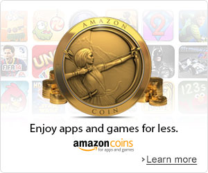 Amazon Coins: Enjoy apps and games for less