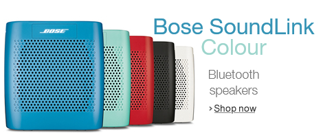 New Bose SoundLink Colour Bluetooth Speakers