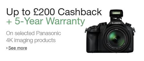 Panasonic 4K Cashback