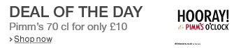 Pimm's Deal of the Day
