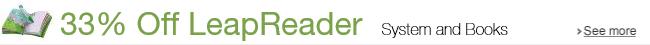 33% Off LeapReader