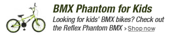 Reflex Kid's Phantom BMX Bike