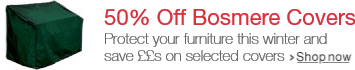 50% Off Selected Bosmere Covers