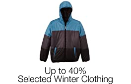 Up to 40% Off Selected Winter Clothing