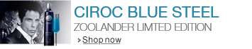 Introducing Ciroc Blue Steel - the Zoolander Limited Edition Bottle