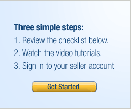Three simple steps - Get Started
