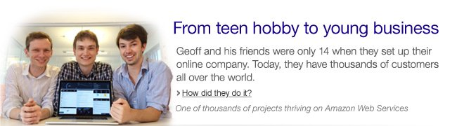 From teen hobby to young business