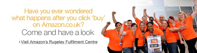 Have you ever wondered what happens after you click �buy� on Amazon.co.uk? Come and have a look.