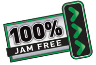 Fellowes 100% Jam Free Technology