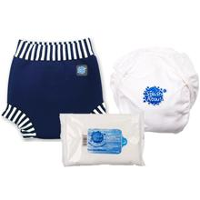 double layer system, happy nappy, swim nappy, baby swimming, toddler swimming, baby swimwear